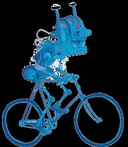 Cycling (ro)bot