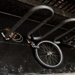 Front wheel of a stolen bike